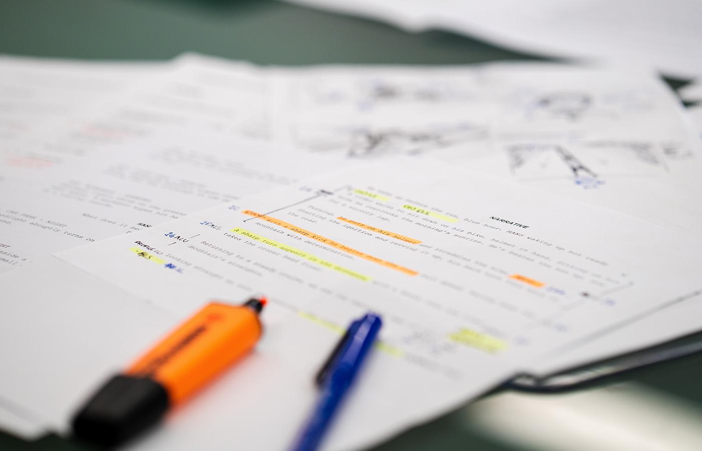 Service_Script Writing